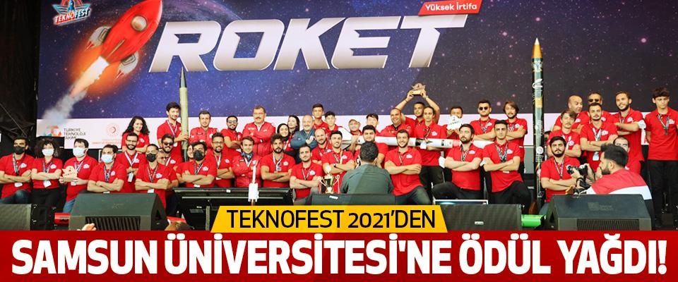 TEKNOFEST 2021'Den Samsun Üniversitesi'ne Ödül Yağdı!