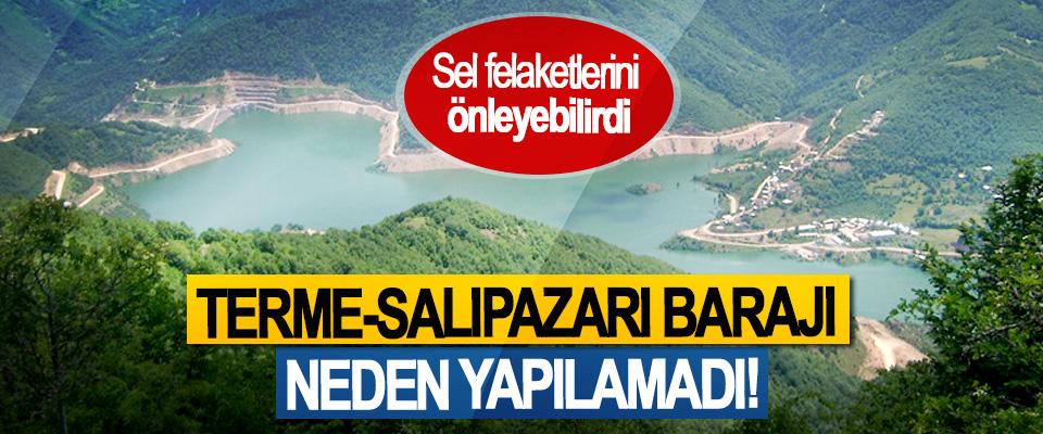 Terme-Salıpazarı barajı neden yapılamadı!