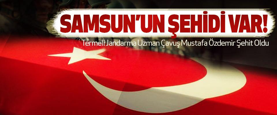 Termeli Jandarma Uzman Çavuş Mustafa Özdemir Şehit Oldu