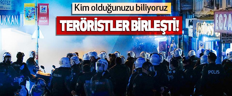 Teröristler Birleşti!