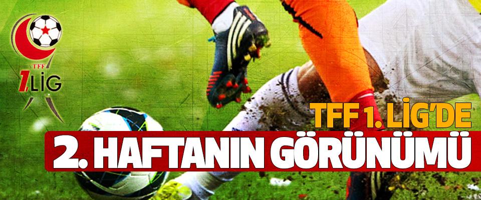 TFF 1. Lig'de 2. haftanın görünümü