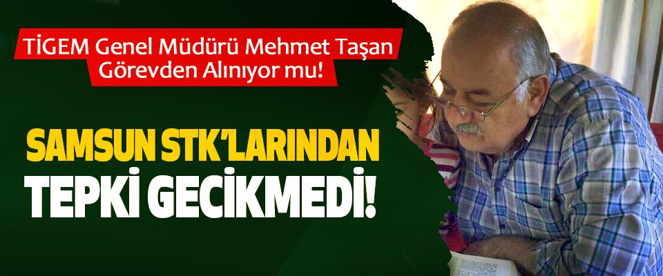 TİGEM Genel Müdürü Mehmet Taşan Görevden Alınıyor mu!