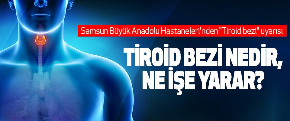 Tiroid bezinin az çalışması vücut dengesini baştan aşağıya bozuyor!