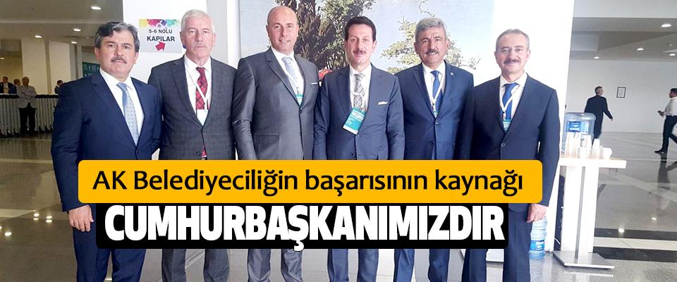 Tok, Ankara'da Belediye  Başkanları Toplantısında