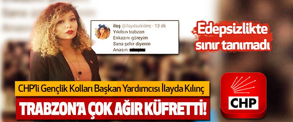 Trabzon'a Çok Ağır Küfretti!