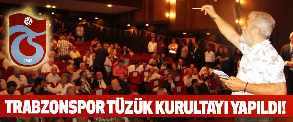 Trabzonspor tüzük kurultayı yapıldı!