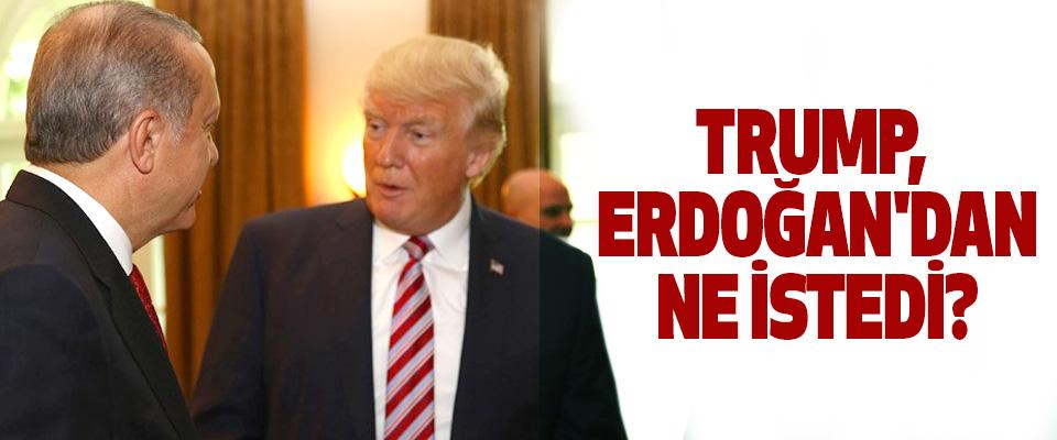 Trump, erdoğan'dan ne istedi?