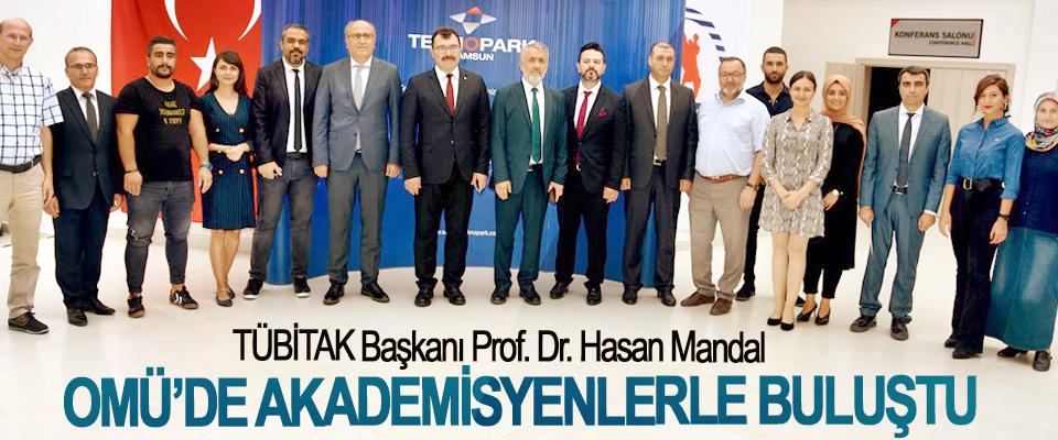 TÜBİTAK Başkanı Prof. Dr. Hasan Mandal OMÜ'de Akademisyenlerle Buluştu