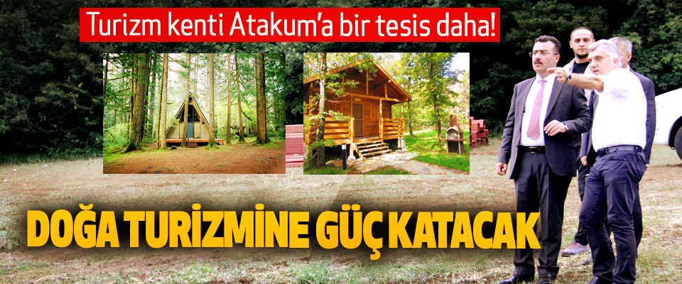 Turizm kenti Atakum'a bir tesis daha!