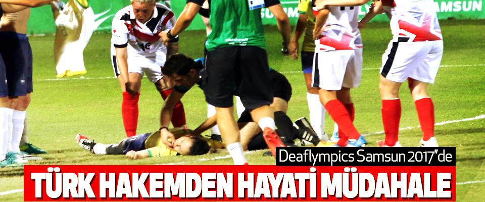 Türk Hakemden Hayati Müdahale