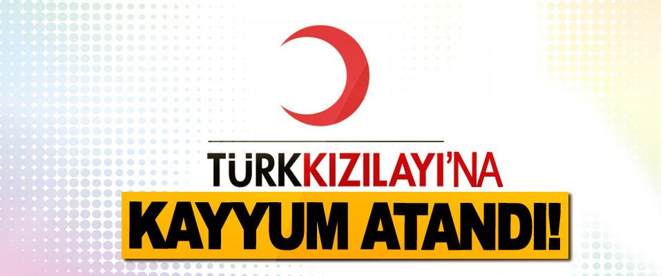 Türk Kızılayı'na kayyum atandı!