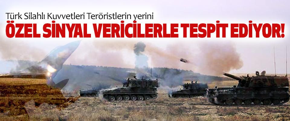 Türk Silahlı Kuvvetleri Teröristlerin yerini Özel sinyal vericilerle tespit ediyor!