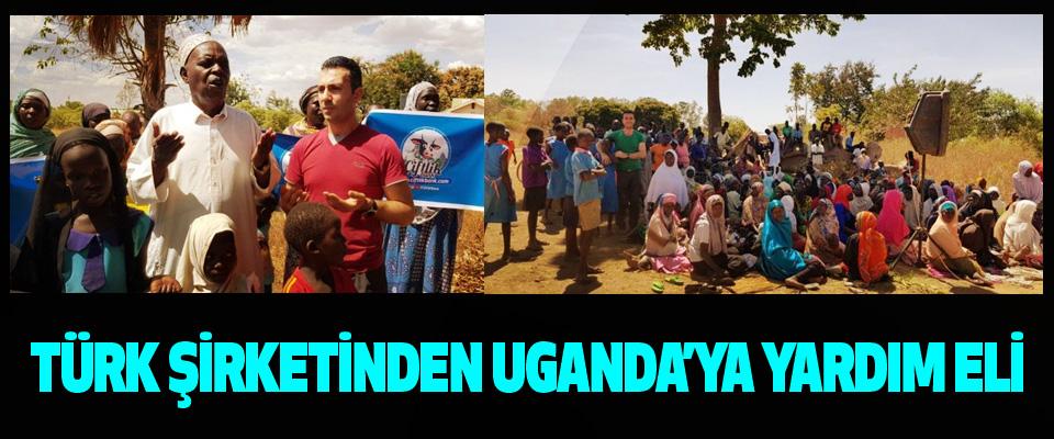 Türk Şirketinden Uganda'ya Yardım Eli