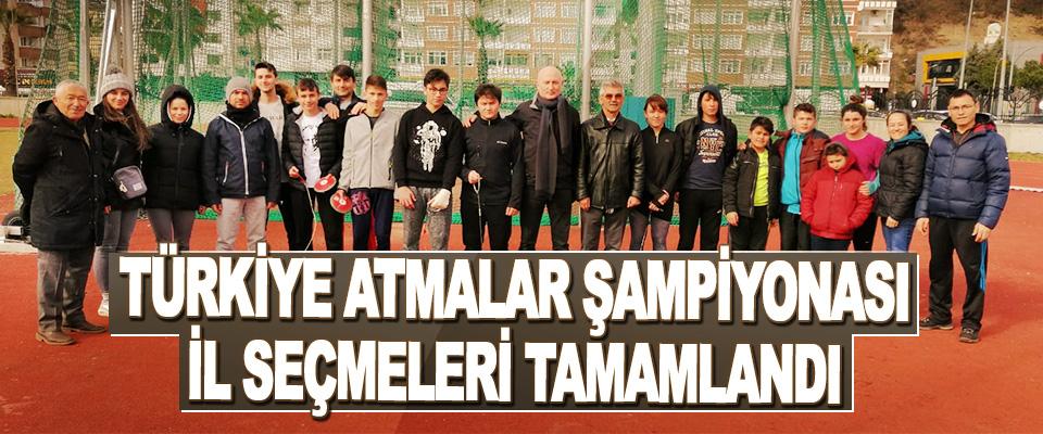 Türkiye Atmalar Şampiyonası İl Seçmeleri Tamamlandı