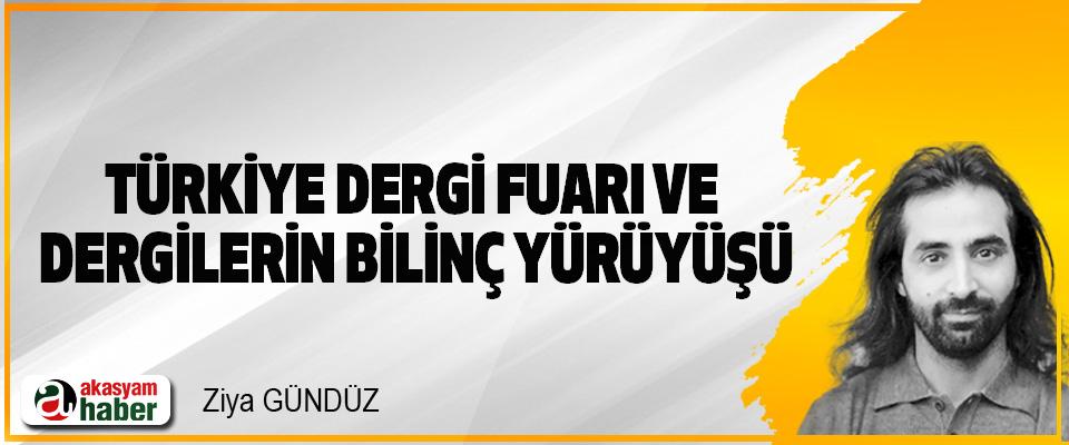 Türkiye Dergi Fuarı Ve Dergilerin Bilinç Yürüyüşü