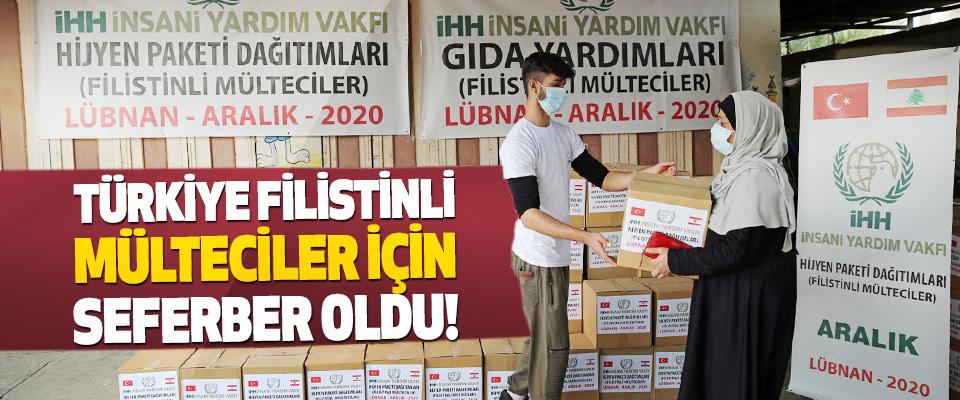 Türkiye Filistinli Mülteciler İçin Seferber Oldu!