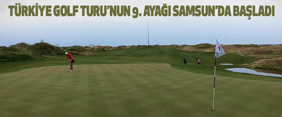 Türkiye Golf Turu'nun 9. Ayağı Samsun'da Başladı