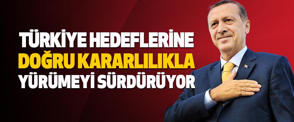 Türkiye Hedeflerine Doğru Kararlılıkla Yürümeyi Sürdürüyor