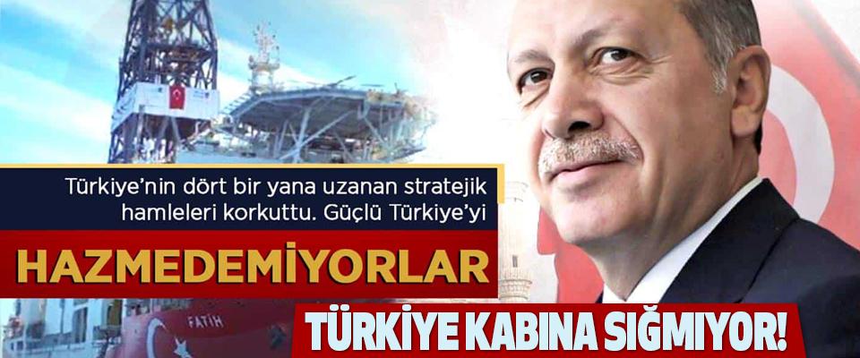 Türkiye Karaya Sığmıyor