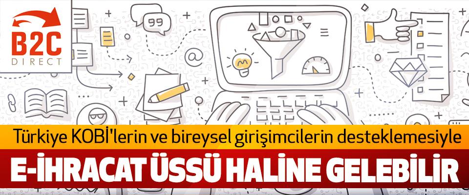 Türkiye KOBİ'lerin ve bireysel girişimcilerin desteklemesiyle E-İhracat Üssü Haline Gelebilir