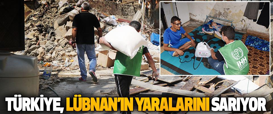 Türkiye, Lübnan'ın Yaralarını Sarıyor