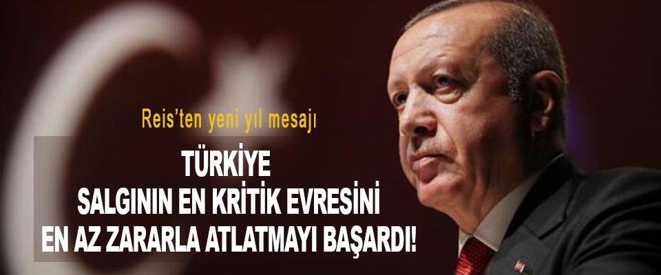 Türkiye salgının en kritik evresini en az zararla atlatmayı başardı!