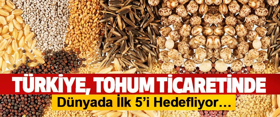 Türkiye Tohum Ticaretinde Dünyada İlk 5'i Hedefliyor…