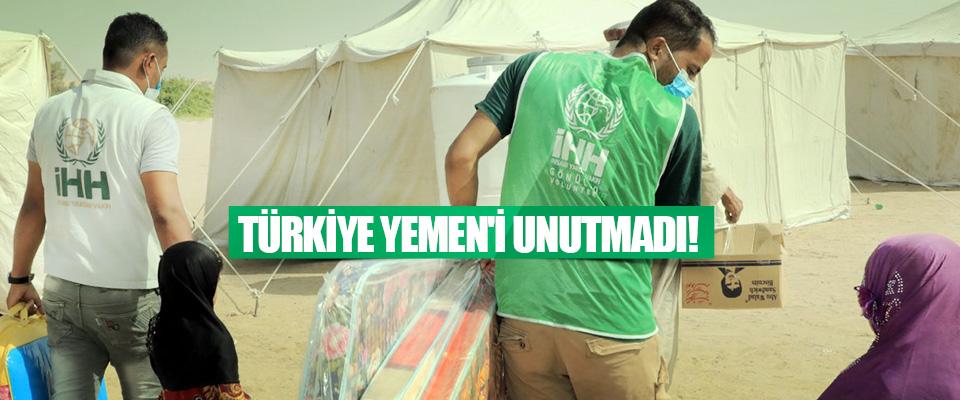 Türkiye Yemen'i Unutmadı!