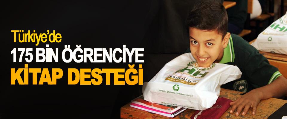 Türkiye'de 175 Bin Öğrenciye Kitap Desteği