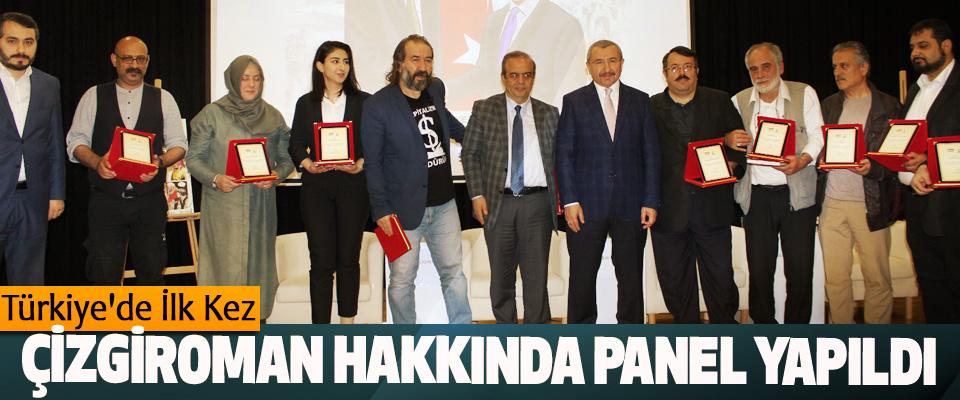 Türkiye'de İlk Kez Çizgiroman Hakkında Panel Yapıldı