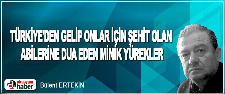 Türkiye'den Gelip Onlar İçin Şehit Olan Abilerine Dua Eden Minik Yürekler