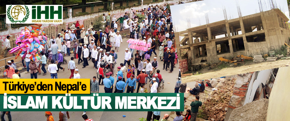 Türkiye'den Nepal'e İslam Kültür Merkezi