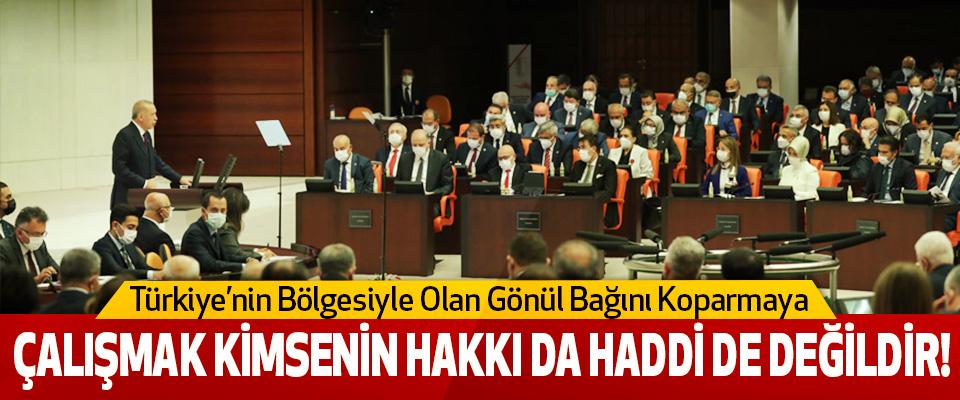 Türkiye'nin Bölgesiyle Olan Gönül Bağını Koparmaya Çalışmak Kimsenin Hakkı Da Haddi De Değildir!