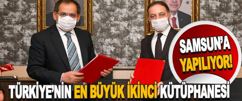 Türkiye'nin En Büyük İkinci Kütüphanesi Samsun'a Yapılıyor!