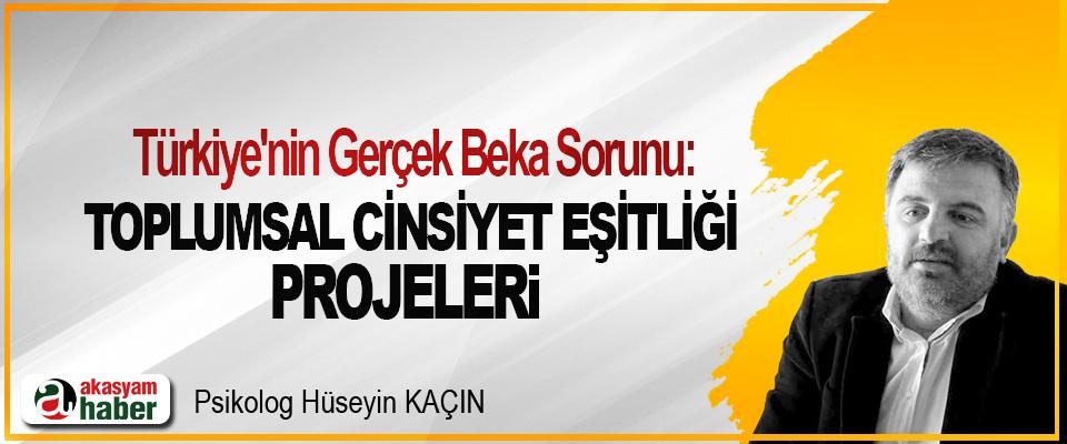 Türkiye'nin Gerçek Beka Sorunu: Toplumsal Cinsiyet Eşitliği Projeleri!