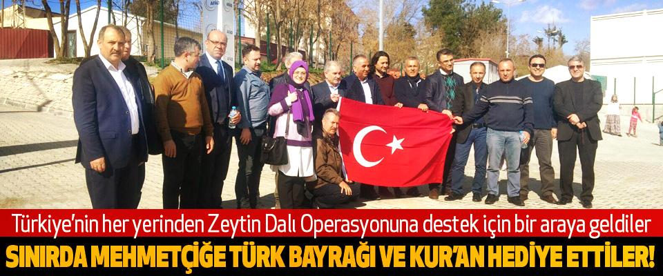 Türkiye'nin her yerinden Zeytin Dalı Operasyonuna destek için bir araya geldiler