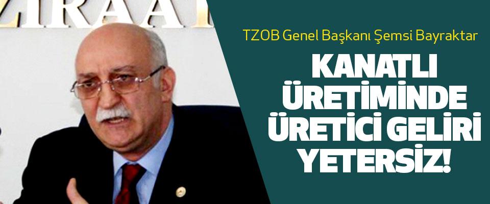 TZOB Genel Başkanı Şemsi Bayraktar: Kanatlı Üretiminde Üretici Geliri Yetersiz!