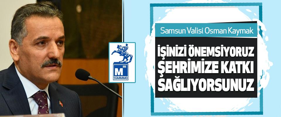 Vali Kaymak, SSMMMO 23. Olağan Genel Kurul Toplantısı'na Katıldı