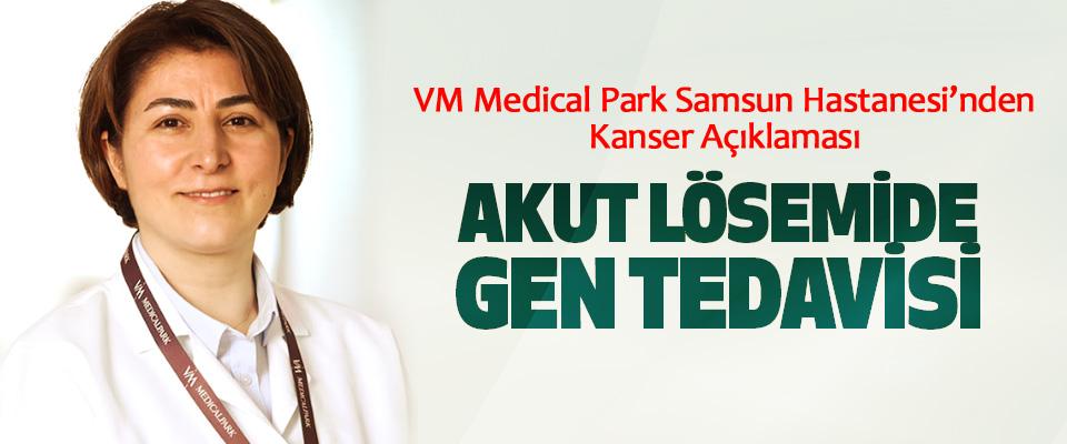VM Medical Park Samsun Hastanesi'nden Kanser Açıklaması