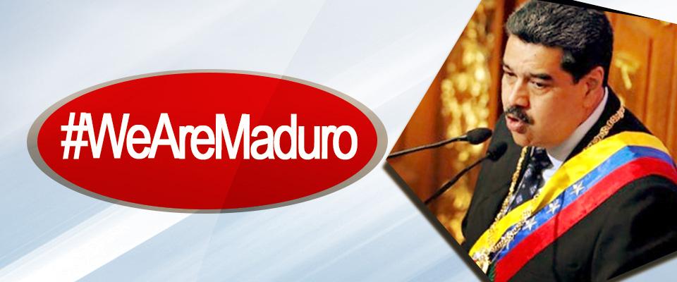 #WeAreMaduro