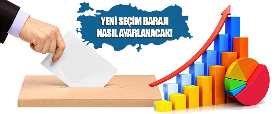 Yeni Seçim Barajı Nasıl Ayarlanacak!