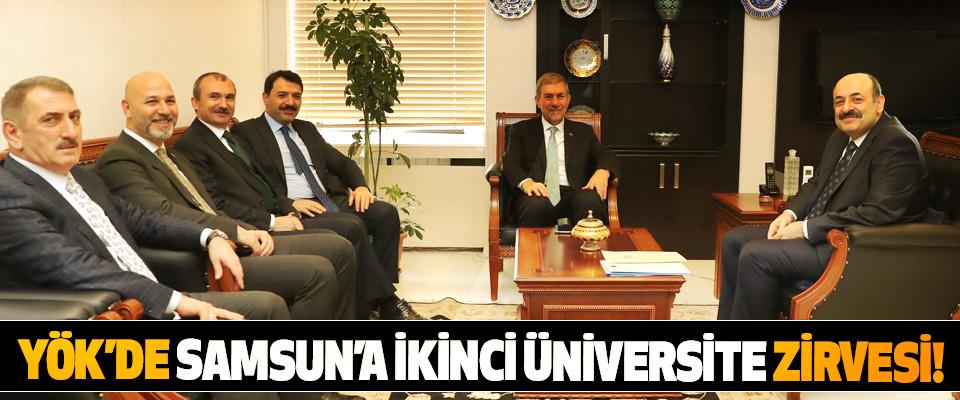YÖK'de Samsun'a İkinci Üniversite Zirvesi!
