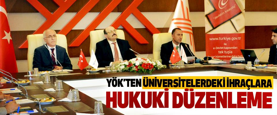 YÖK'ten Üniversitelerdeki İhraçlara Hukuki Düzenleme