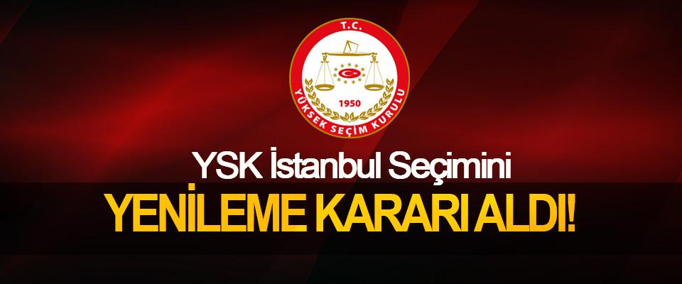 YSK İstanbul Seçimini Yenileme Kararı Aldı!