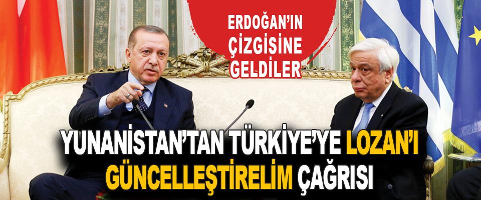 Yunanistan'tan Türkiye'ye Lozan'ı Güncelleştirelim Çağrısı