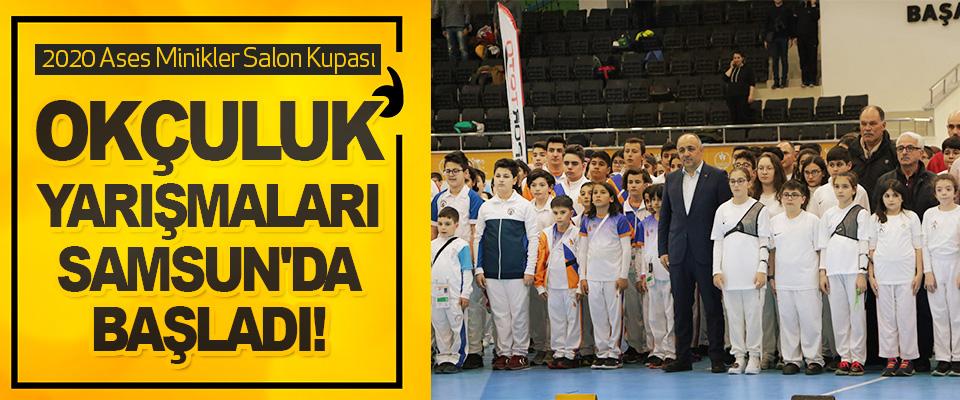 2020 Ases Minikler Salon Kupası Okçuluk Yarışmaları Samsun'da Başladı!
