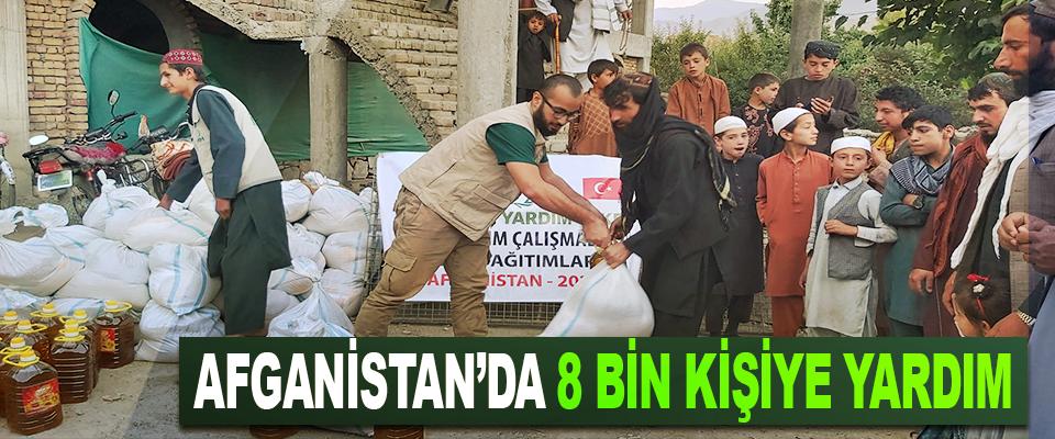Afganistan'da 8 Bin Kişiye Yardım