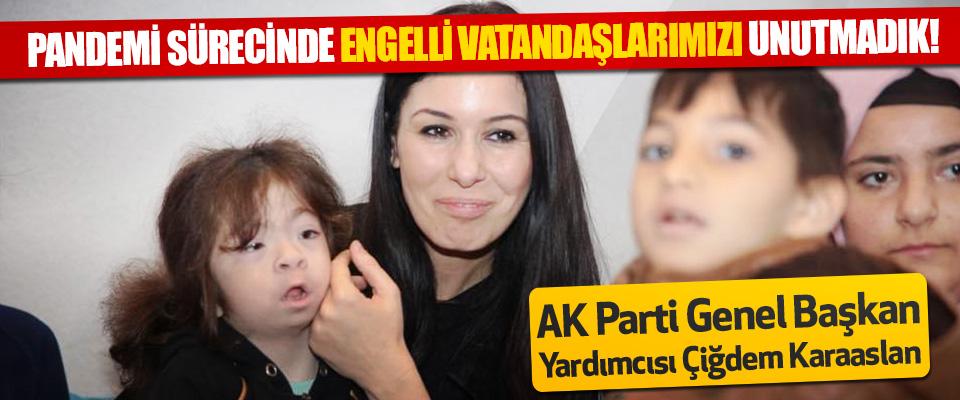 AK Parti Genel Başkan Yardımcısı Çiğdem Karaaslan