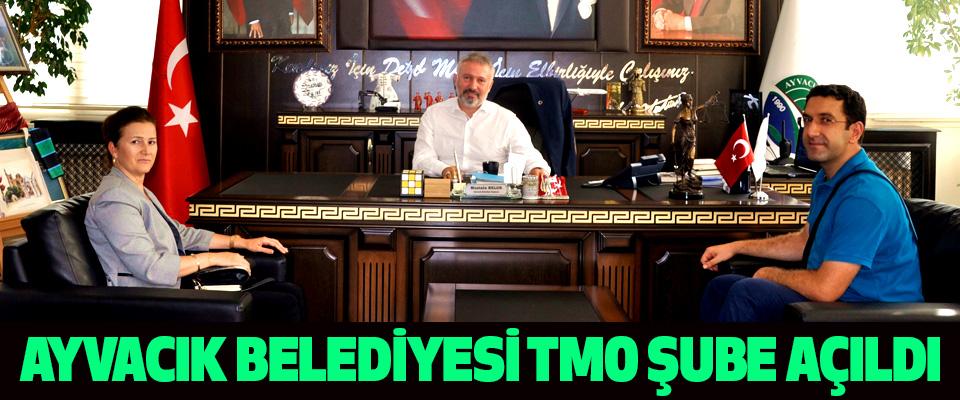 AYVACIK BELEDİYESİ TMO ŞUBE AÇILDI