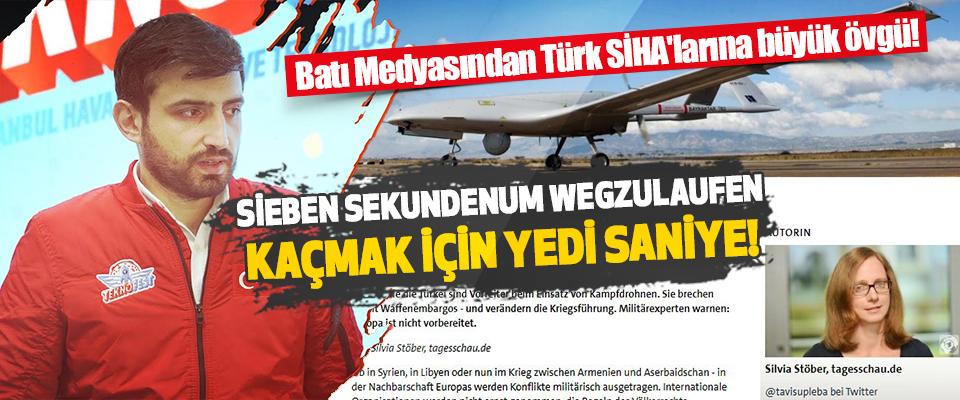 Batı Medyasından Türk SİHA'larına Büyük Övgü!